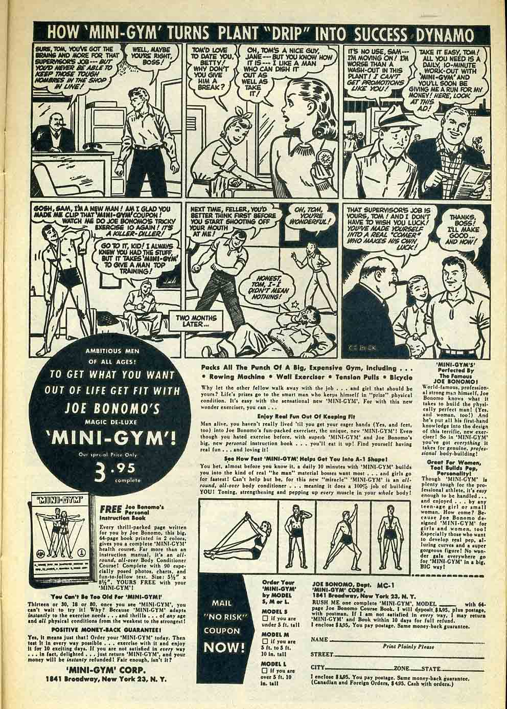 Barrys Pearls of Comic Book Wisdom Comic Book ads from
