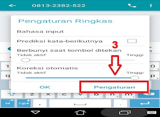 Pengaturan Keyboard Android