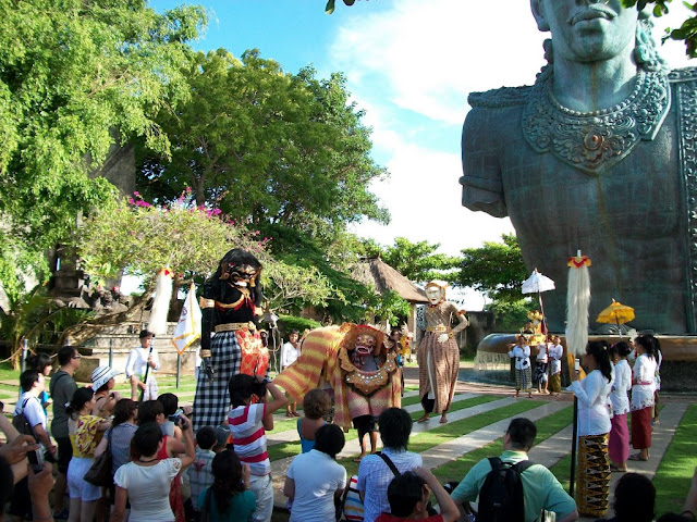 Things to do in Bali at Garuda Wisnu Kencana ( GWK ) Cultural Park