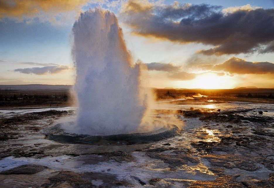 Geysir at golden circle