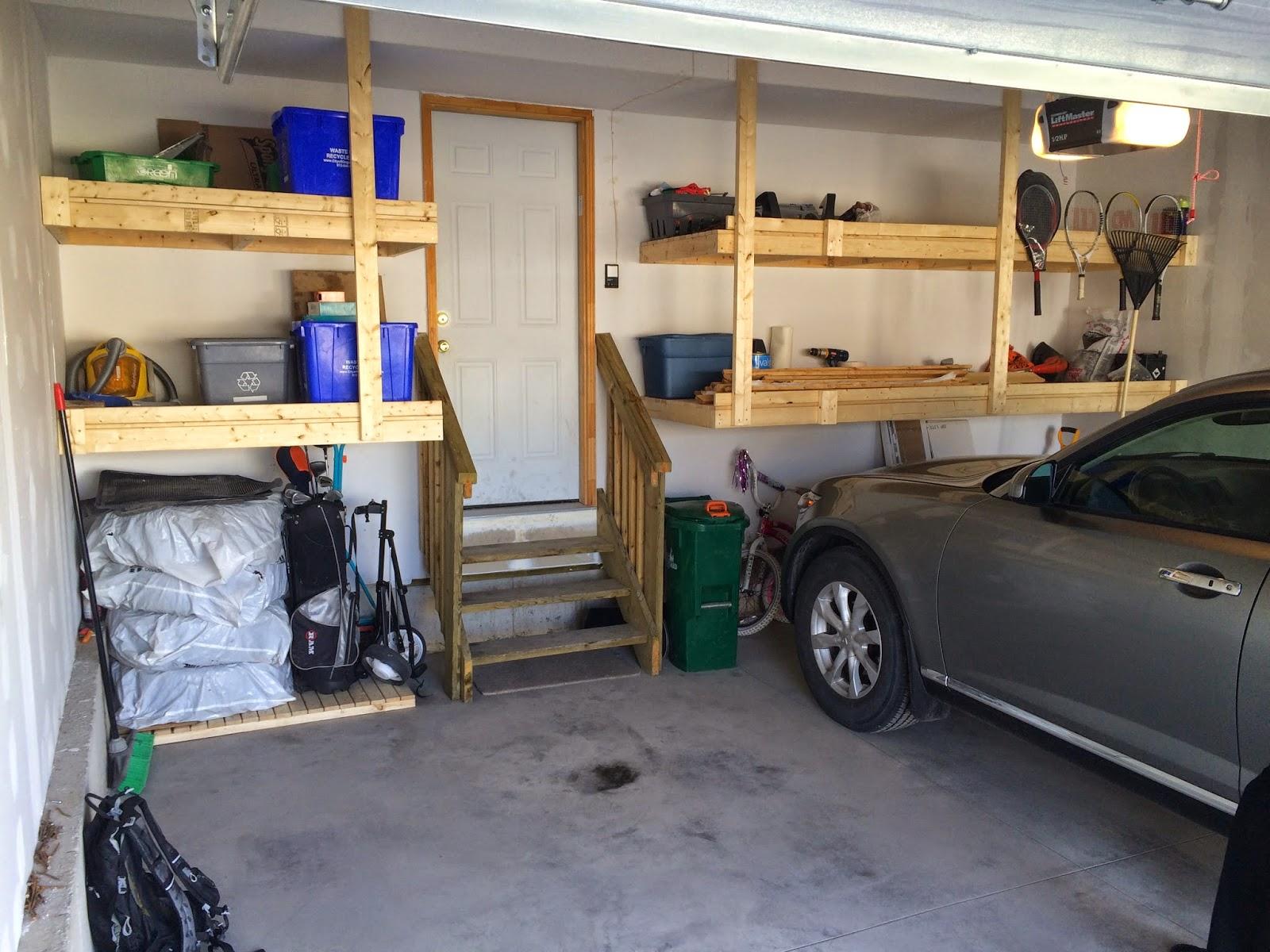 Custom Garage Shelving And Storage