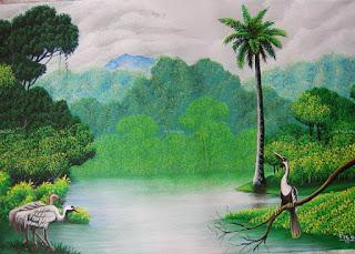 pinturas-naturales-selvas-aves
