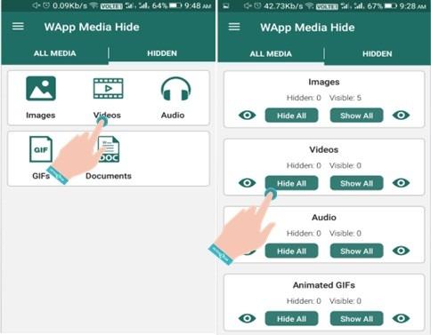 Cara Menyembunyikan Foto Whatsapp