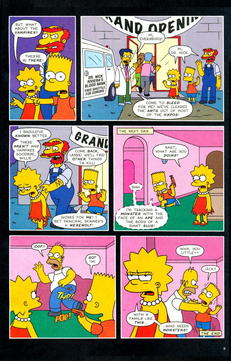 Read online Simpsons Comics Presents Bart Simpson comic -  Issue #28 - 10