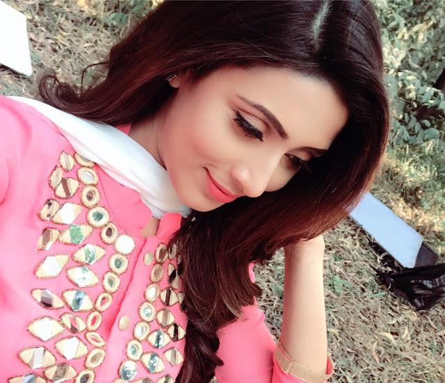 Bidya Sinha Saha New Pic In Pink Dress