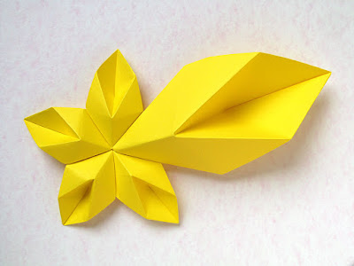 Origami, 5 moduli: Star of Bethlehem by Francesco Guarnieri