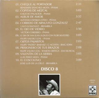 Antonio Aguilar - Mi Historia Disco 08