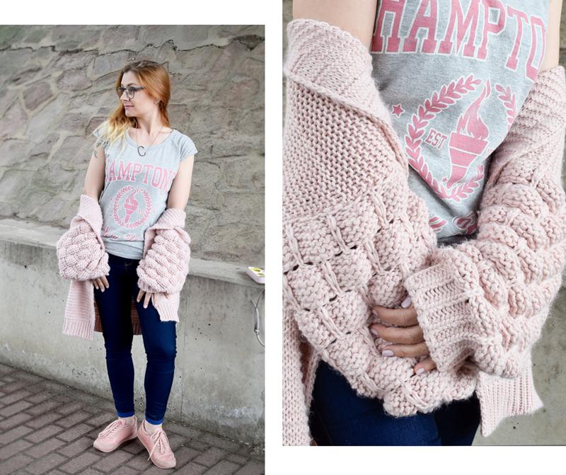 schöne Strickjacke für Frauen, Mode Inspiration