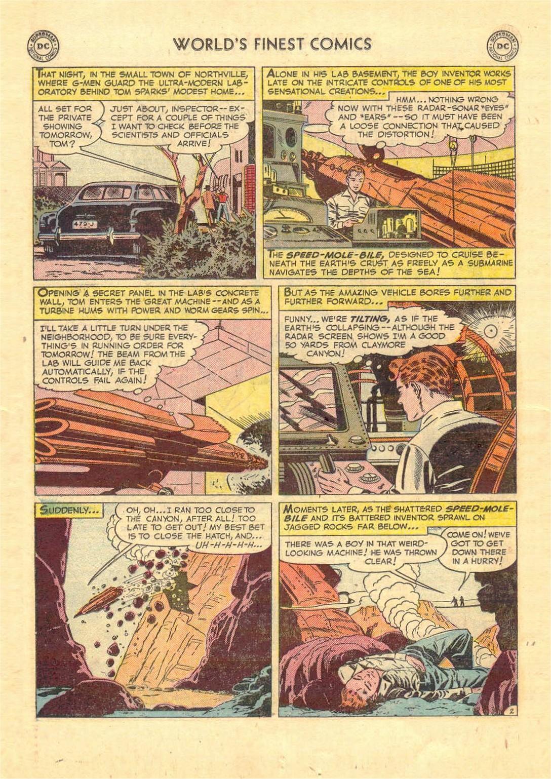 Read online World's Finest Comics comic -  Issue #52 - 54
