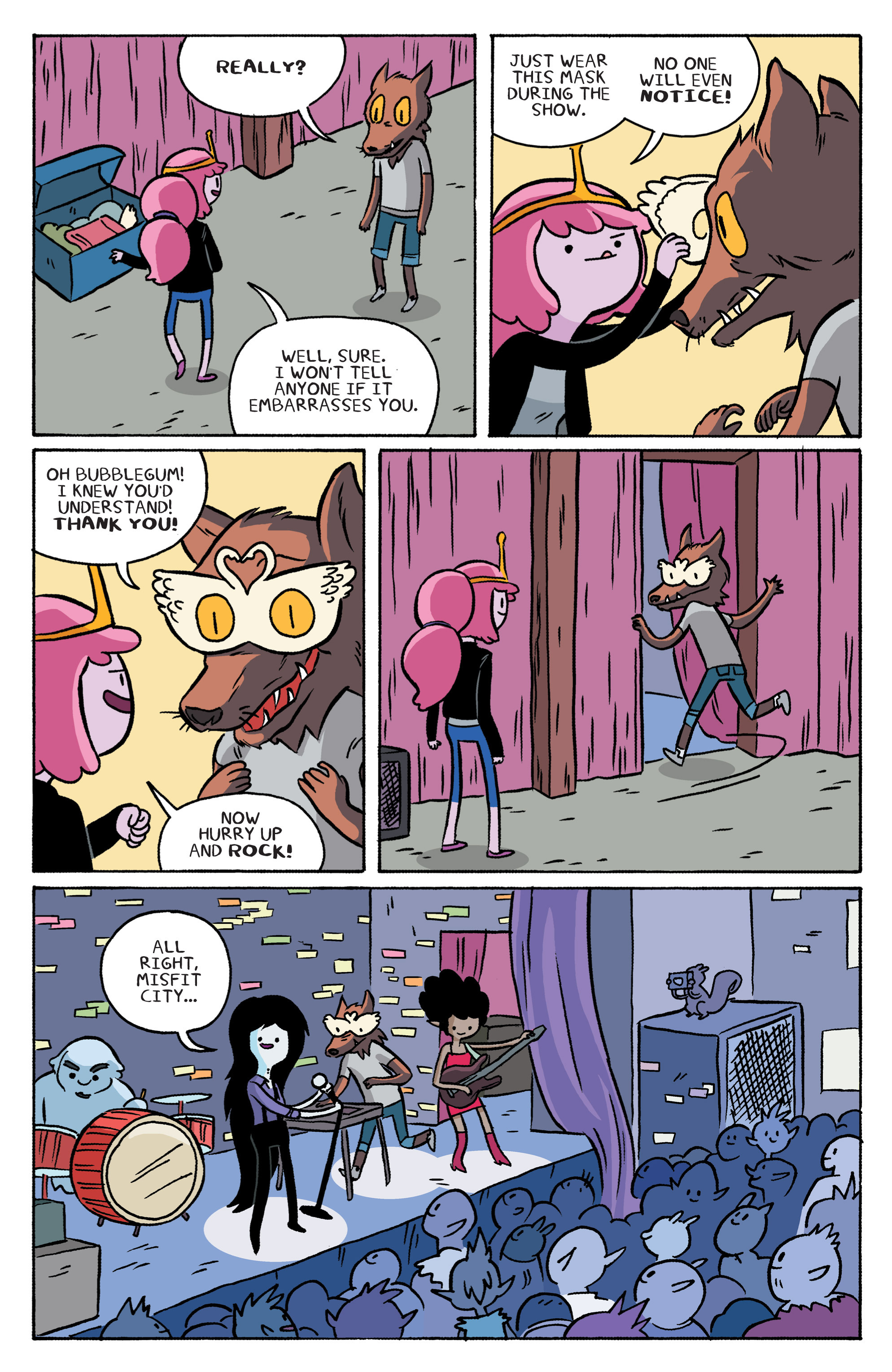 Read online Adventure Time: Marceline and the Scream Queens comic -  Issue #2 - 17