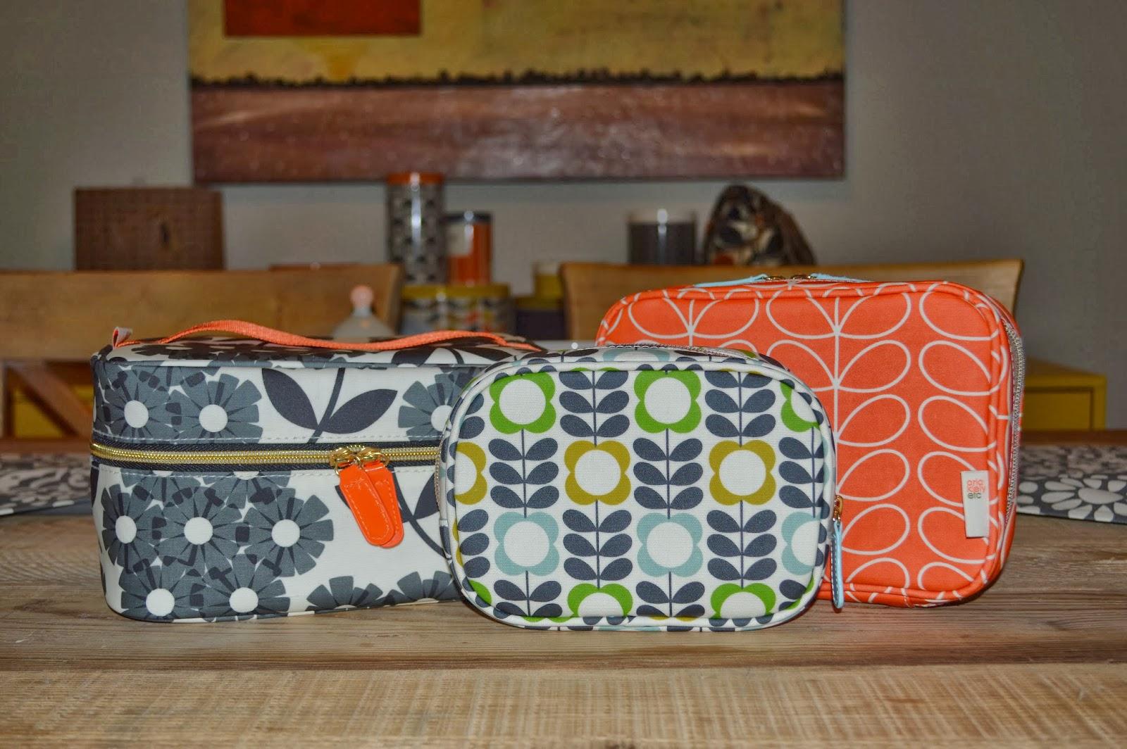 Orla Kiely For Target Makeup Bags