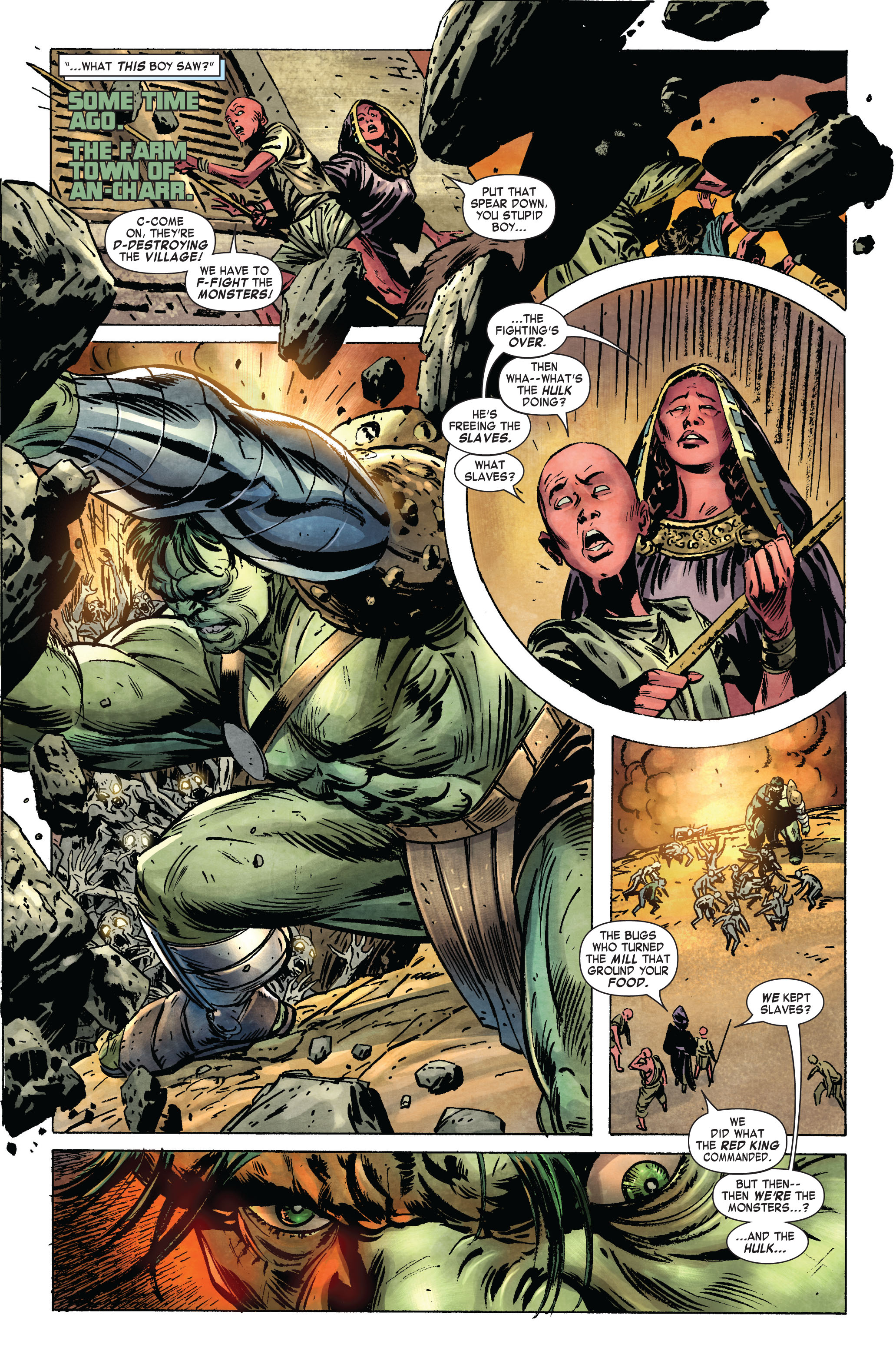 Read online Skaar: Son of Hulk comic -  Issue #2 - 19
