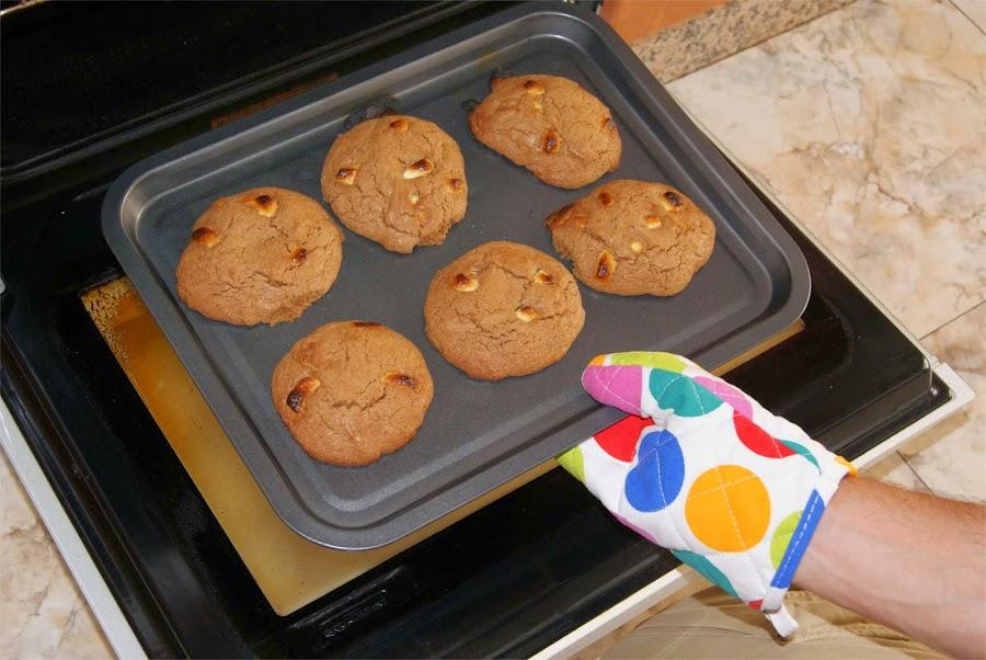 receta de cookies paso 6