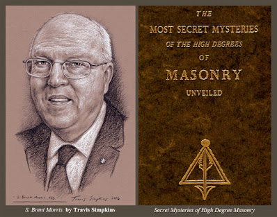 S. Brent Morris, 33° GC. Scottish Rite, SJ. Heredom. Quatuor Coronati Lodge. by Travis Simpkins