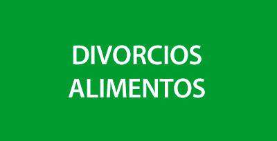 Divorcios y Alimentos