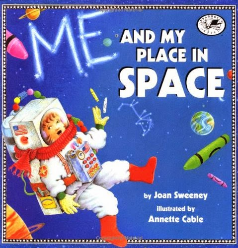 Me and My Place in Space, part of children's book review list about outer space