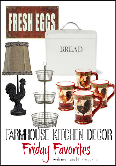 Farmhouse Kitchen Decor Items