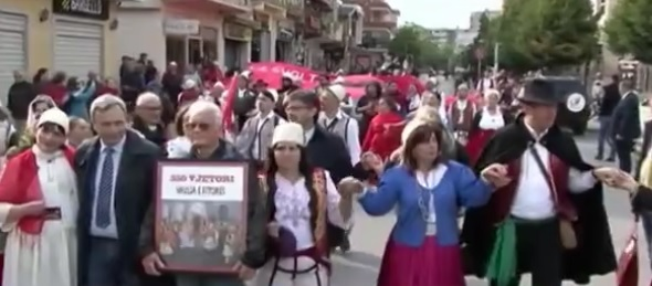 Arbëresh's march in Shkodra to get recognised by UNESCO