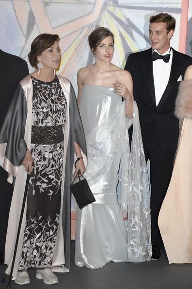 Prince Albert, Princess Caroline, Charlotte Casiraghi, Princess Alexandra, Beatrice Borromeo-Casiraghi, Pierre Casiraghi, Andrea Casiraghi and Tatiana Casiraghi