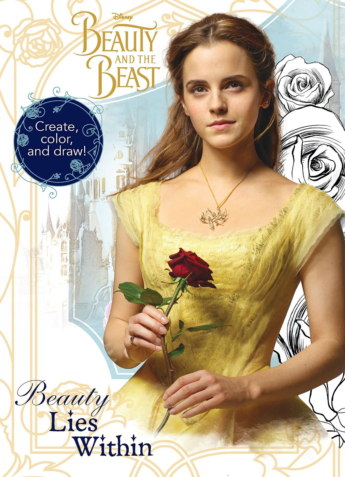 Beauty And The Beast Movie News Live Action Beauty And The Beast - beauty and the beast coloring pages live action