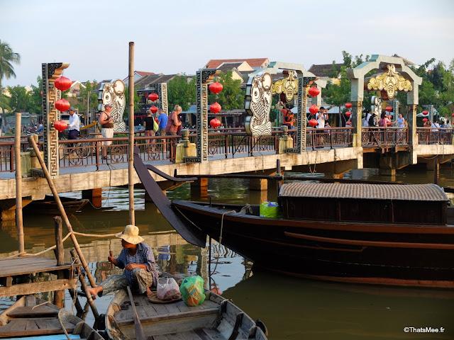 fleuve thu bon tours en barque hoi an vietnam