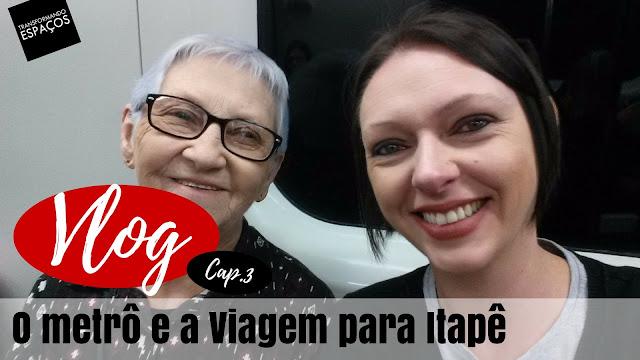 VLOG: O metrô em SP e a viagem para Itapê