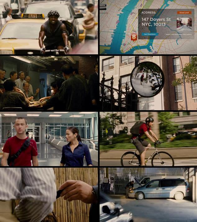 Premium Rush 2012 Dual Audio Hindi 480p BluRay