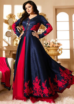 Latest-party-wear-indian-dresses-2017-designs-for-girls-7