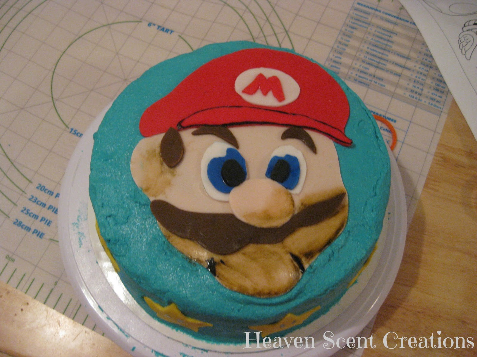 Heaven Scent Creations Super Mario Bros Cake