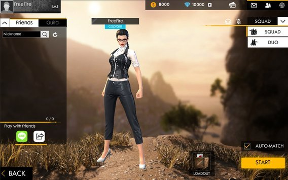 Garena Free Fire for Android Plus Mod Aim bot + Data android