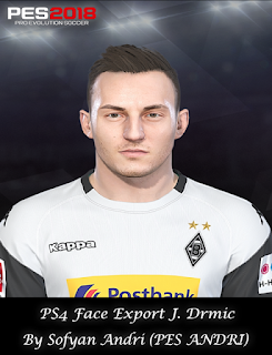 PES 2018 Faces Josip Drmić By Sofyan Andri