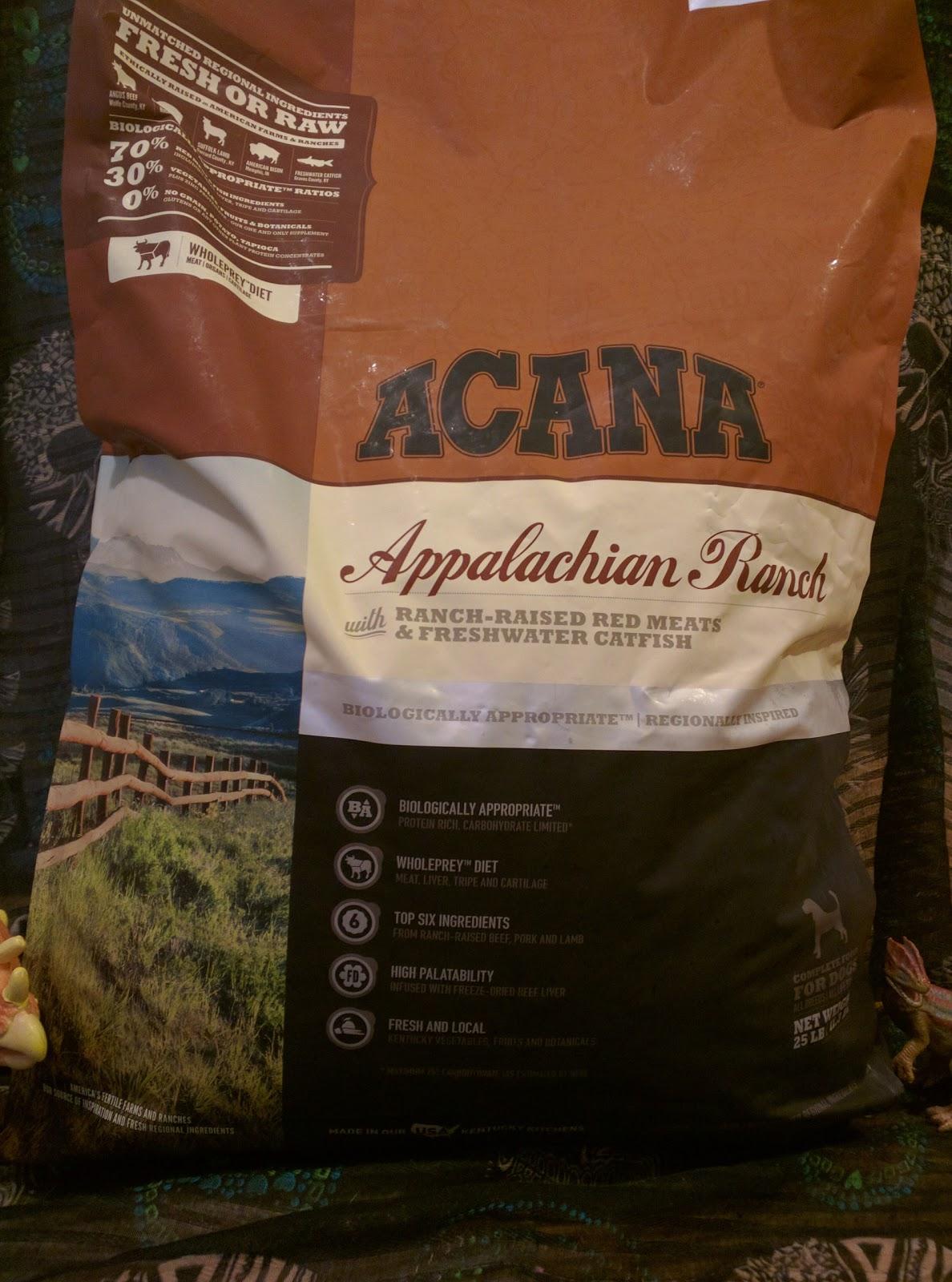 The Dog Geek Food Friday Acana Regionals Appalachian Ranch