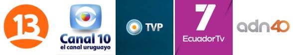 Canales LatinoAmericanos en TVALACARTA