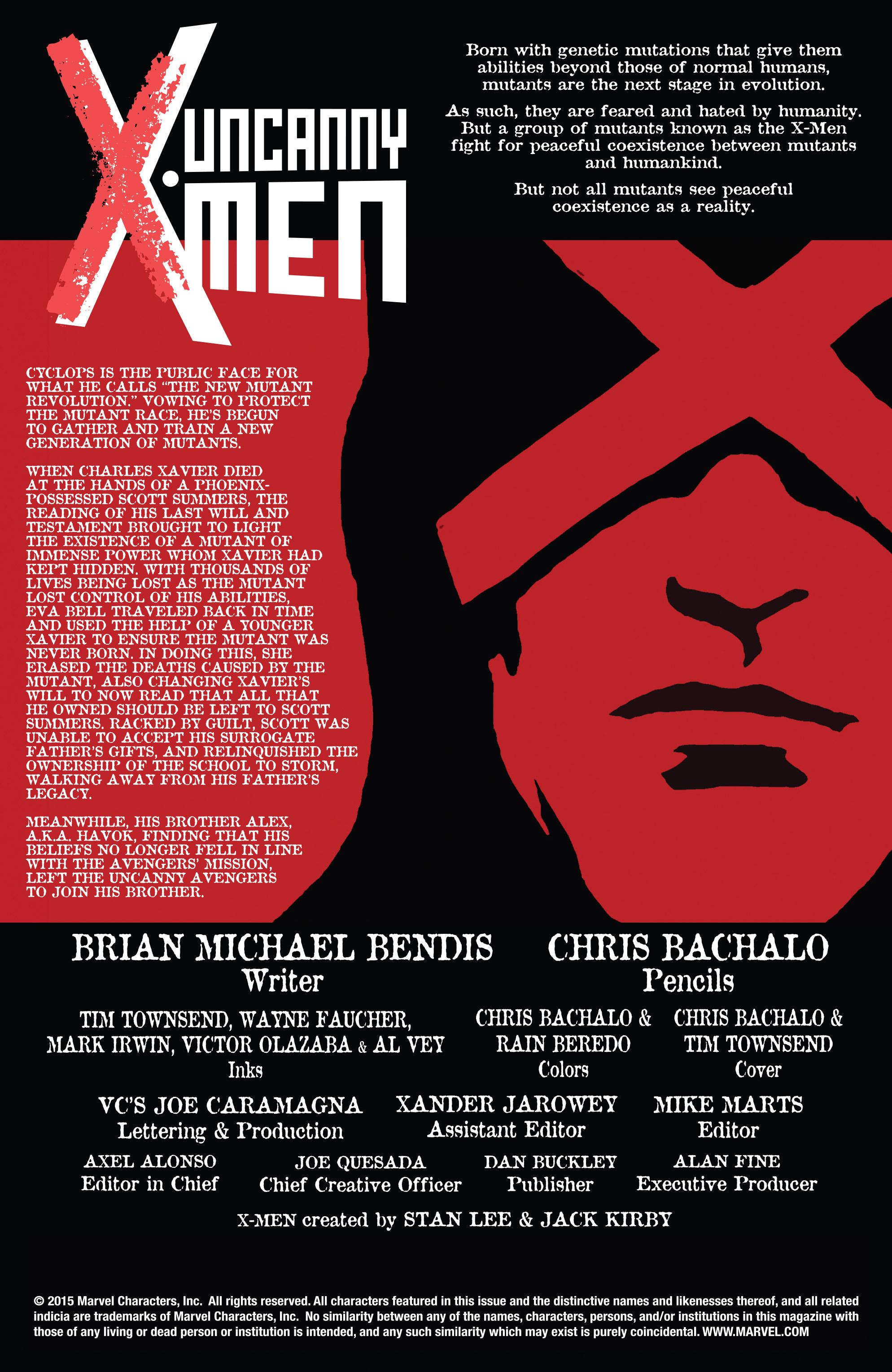 Read online Uncanny X-Men (2013) comic -  Issue #32 - 3