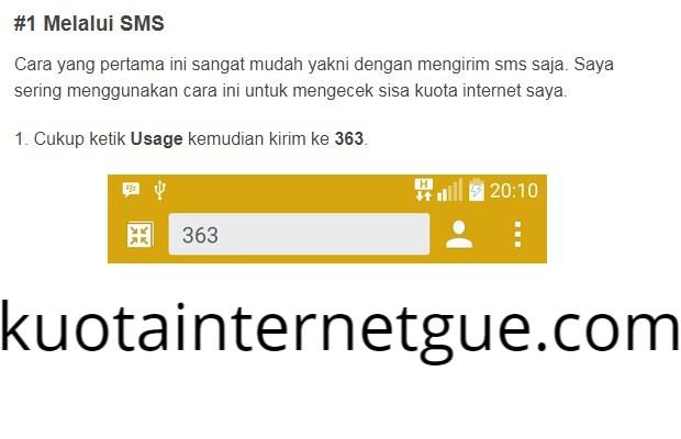 Cara Cek Kuota Internet Indosat Lewat  SMS Terbaru 2019