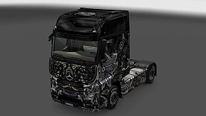 Batik Indonesia skin for Mercedes MP4