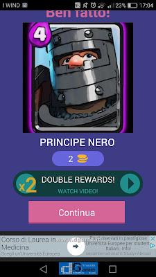 Indovina la carta Royale soluzione livello 20