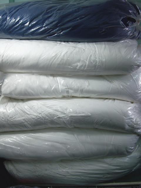 Cotton trắng 2 chiều may đồ sơ sinh trẻ em