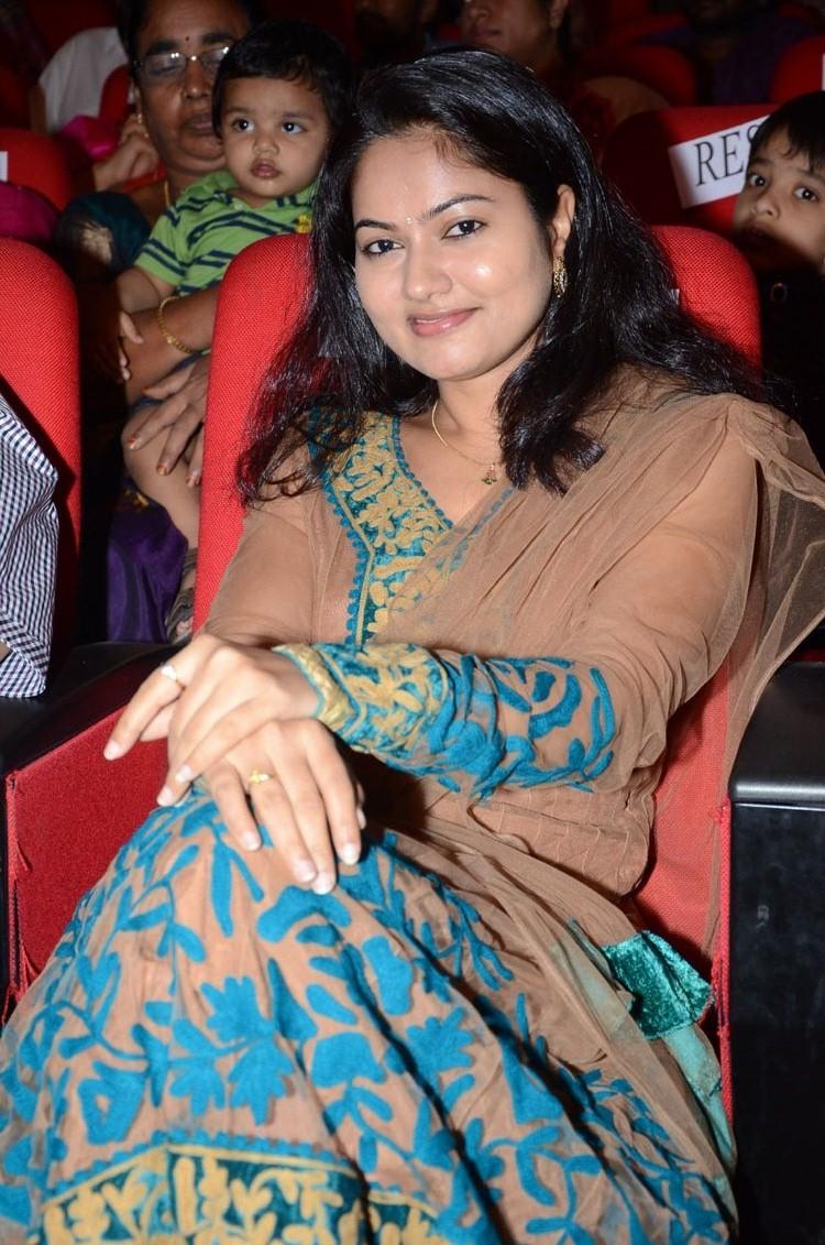 Suhasini stills at adda audio launch