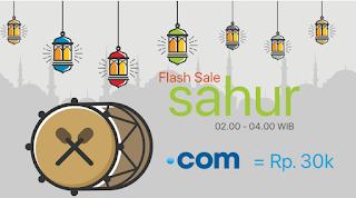 Domain .com Murah Hanya 30 Ribu Di Flash Sale Rumahweb