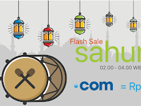 Domain .com Murah Hanya 30 Ribu Di Flash Sale Rumahweb
