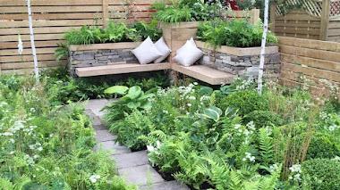 Jardín de ciudad en Hampton Court 2016: Inner City Grace