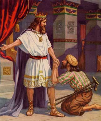 relationship between king david and god