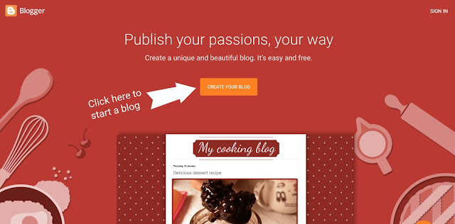 How to start a free blog on Blogger Blogging with Wisdom