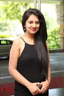 Actress Nikita Bisht Pictures in Black Long Dress at Akritti Elite Exhibition Launch  0002.jpg