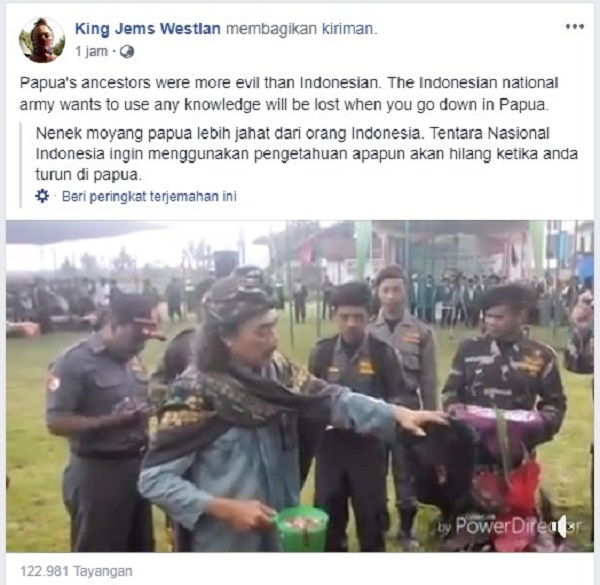 """Manteramu Tidak Laku di Papua"", KKB Kira TNI, Ternyata Banser yang Dilantik Gus Nuril"