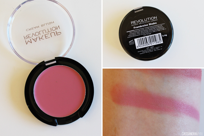 MAKEUP REVOLUTION // Powder + Cream Blushes | Review + Swatches - CassandraMyee