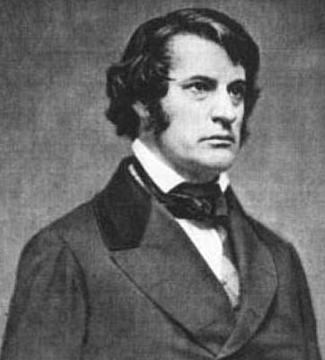 Republican U.S. Senator Charles Sumner (R-MA)
