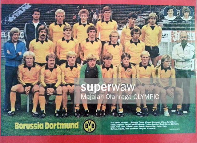 Team Borussia Dortmund 1981