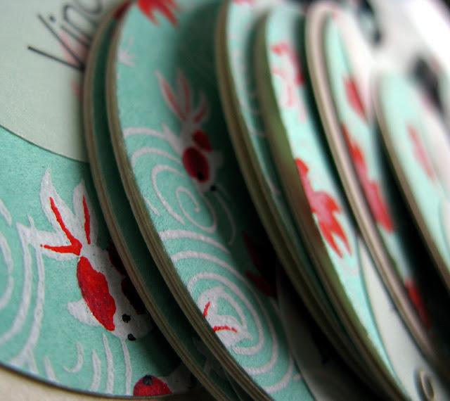 faire-part baptême bulle papier japonais sur mesure raffiné fait main haut de gamme cadeau invité